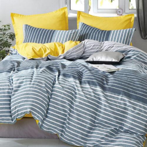 Finley Quilt Cover Set 100% Cotton 250TC @ Bed Linen Online